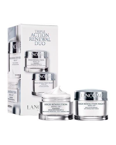 High R&#233solution Refill-3XTM Dual Pack Triple Action Renewal Duo – A $194.00 Value