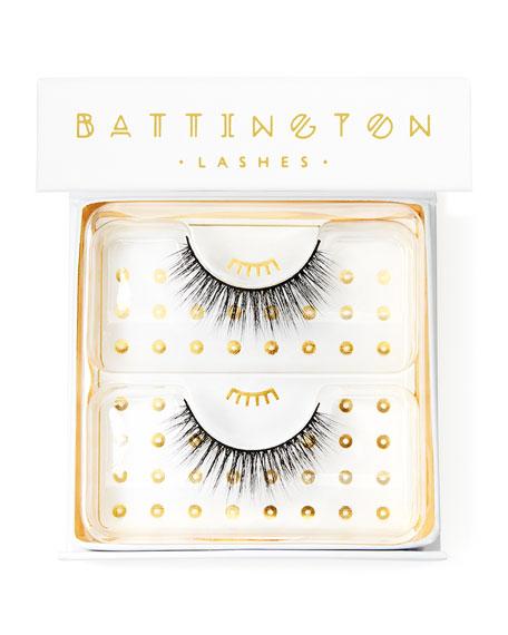 Battington Lashes Monroe 3-D Silk Lashes