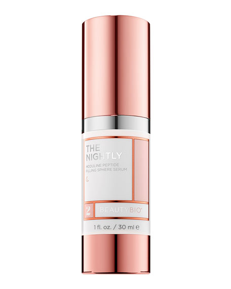 BeautyBio THE NIGHTLY Moduline Peptide Filling Sphere Serum,