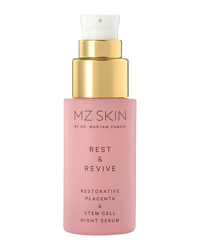 Rest and Revive Restorative Placenta and Stem Cell Night Serum  0.1 oz.