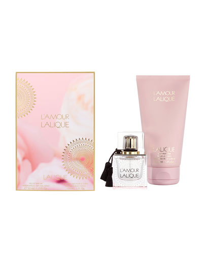 Lalique L'Amour EDP & Body Lotion Gift Set