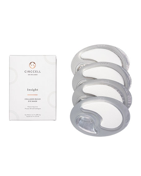 Circcell Skincare Insight Collagen Eye Masks, 4 Count
