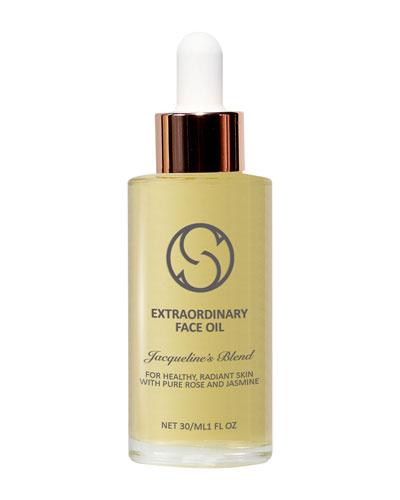 Extraordinary Face Oil – Jacqueline's Blend for Anti-Aging  1.0 oz./ 30 mL