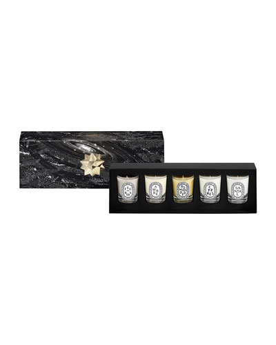 5-Piece Mini Candle Set, 1.2 oz./ 35 g