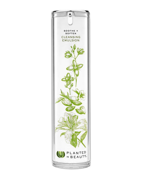 Planted in Beauty Soothe+Soften Cleansing Emulsion, 4.0 oz./