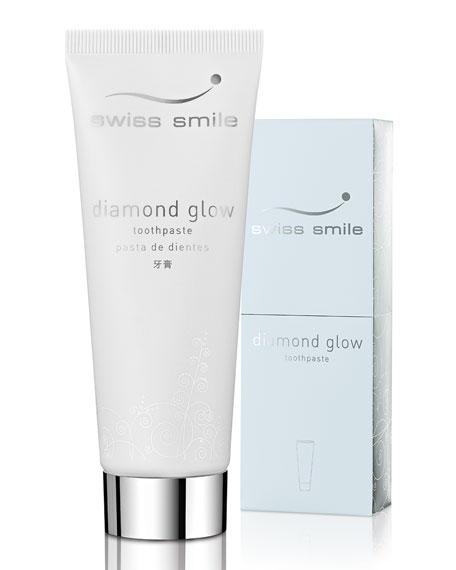 Swiss Smile Diamond Glow Toothpaste, 2.64 oz./ 75