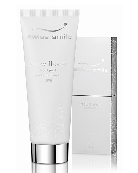 Swiss Smile Snow Flower Toothpaste