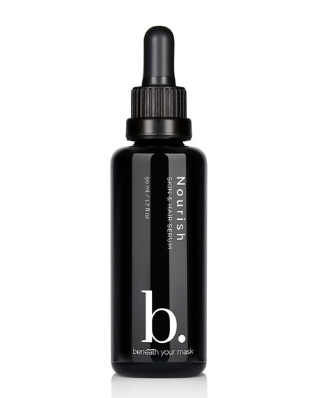 Beneath Your Mask Nourish Skin & Hair Serum,