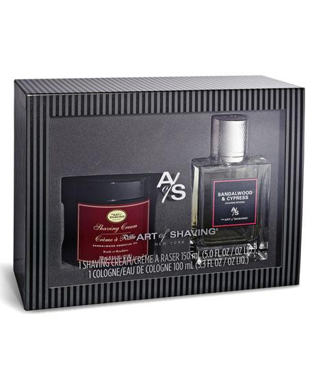 Sandalwood Eau de Toilette & Shave Cream Gift Set