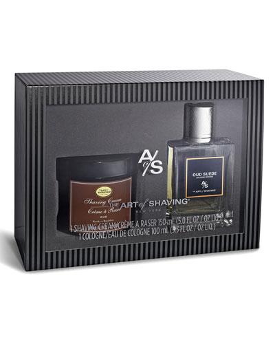 Oud Suede Eau de Toilette & Shave Cream Gift Set