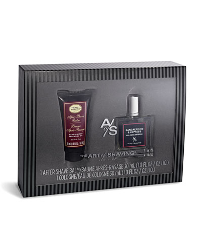 Sandalwood Eau de Toilette & After Shave Balm Gift Set