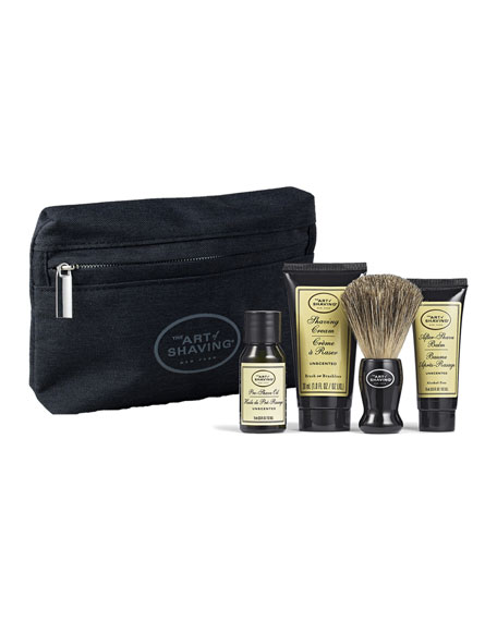 The Art of Shaving Starter Kit With Bag,