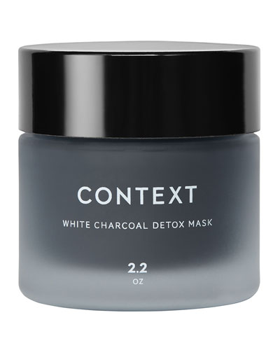 White Charcoal Detox Mask, 2.0 oz./ 59 mL