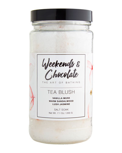 Bath Salts - Tea Blush  7 oz./ 200 g