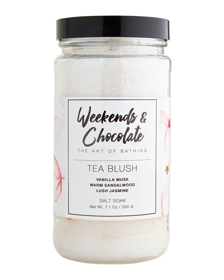 Bath Salts - Tea Blush, 7 oz./ 200 g