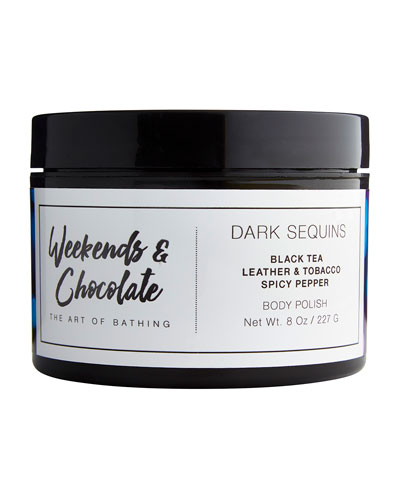 Body Scrub - Dark Sequins, 8.0 oz./ 227 mL