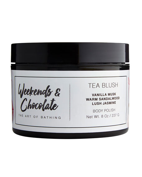 Weekends and Chocolate Body Scrub - Tea Blush,