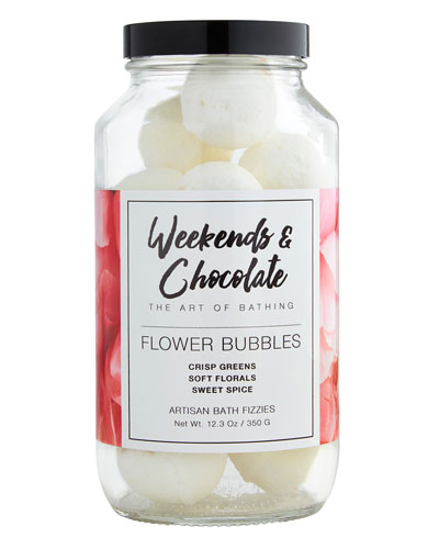 Bath Fizzies in a Jar Flower Bubbles, 12.3 oz./ 350 g