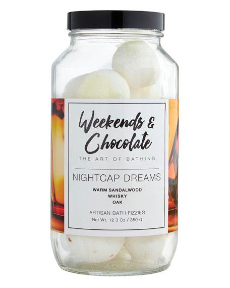 Bath Fizzies in a Jar - Nightcap Dreams, 12.3 oz./ 350 g