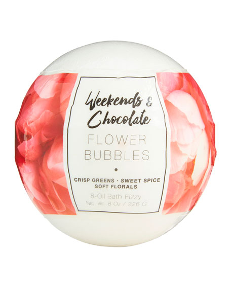 Large Bath Fizzy - Flower Bubbles, 8 oz / 226 g