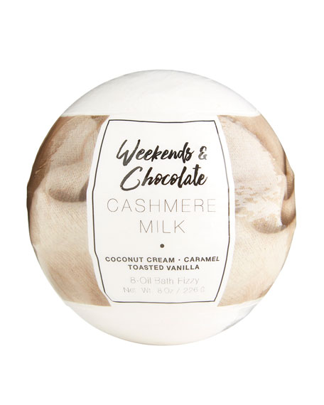 Weekends and Chocolate Large Bath Fizzy - Cashmere