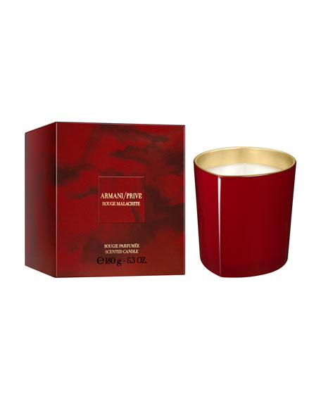 Giorgio Armani Limited Edition Rouge Malachite Candle, 6.3