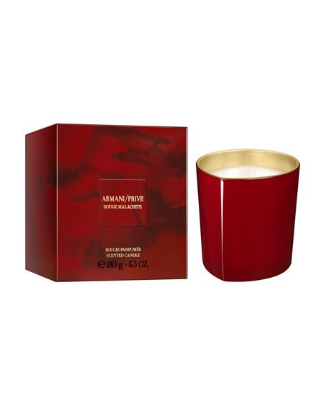 Giorgio Armani Limited Edition Rouge Malachite Candle, 6.3
