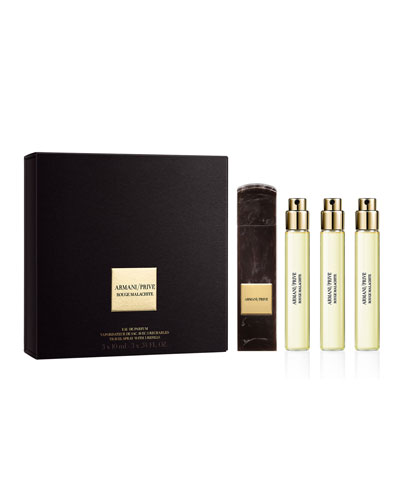 Limited Edition Rouge Malachite Travel Spray Coffret Set