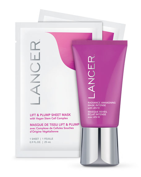 Lancer Limited Edition Plump & Brighten Mask Set