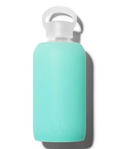Glass Water Bottle, Holiday, 16 oz./ 500 mL