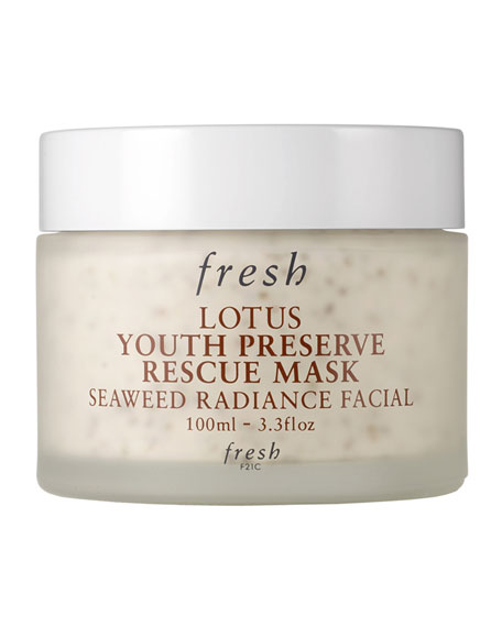 Fresh Lotus Youth Preserve Rescue Mask, 3.3 oz./