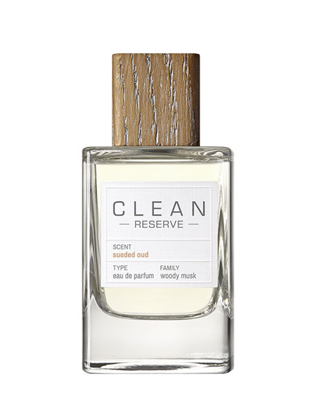 Clean Sueded Oud Eau de Parfum, 3.4 oz./