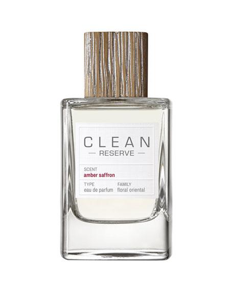 Clean Amber Saffron Eau de Parfum, 3.4 oz./