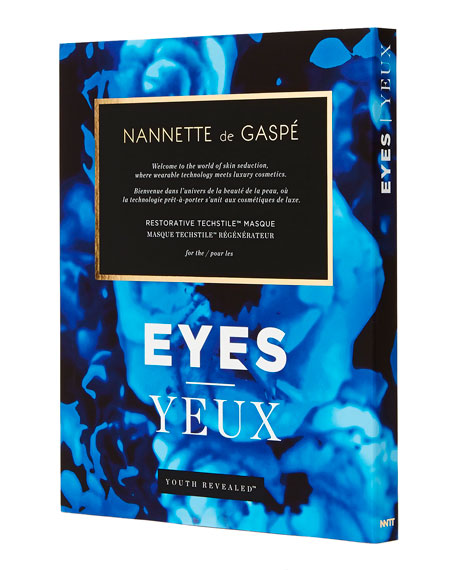 Nannette de Gaspe Youth Revealed Eye Mask