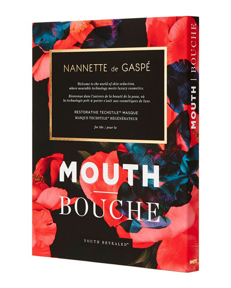 Nannette de Gaspe Youth Revealed Mouth Mask