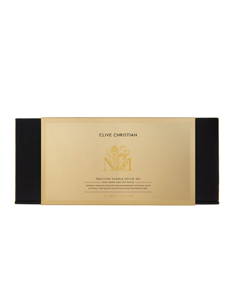 Clive Christian Candle Trio Votives Gift No. 1