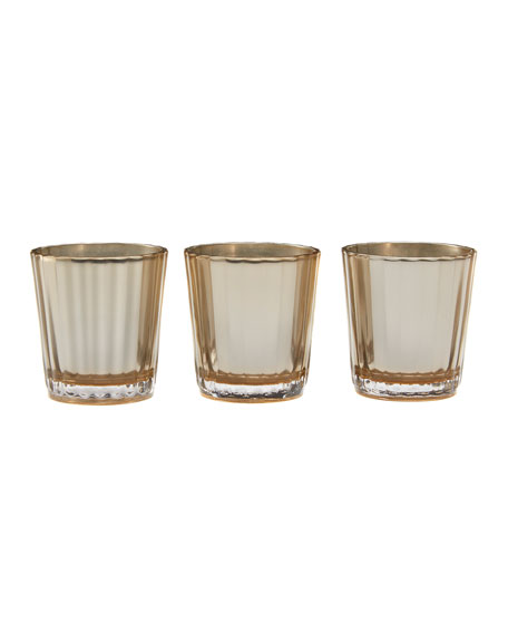 Candle Trio Votives Gift 1872
