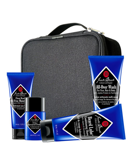 Jack Black Grab & Go Traveler Set ($63