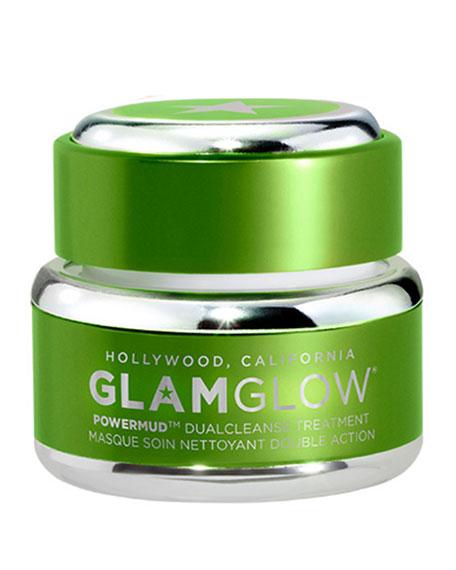 Glamglow PowerMud Dual Cleanse Treatment, 0.5 oz./ 15g