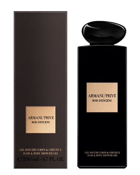 Armani Prive Bois D'Encens Shower Gel, 6.7 oz./ 200 mL