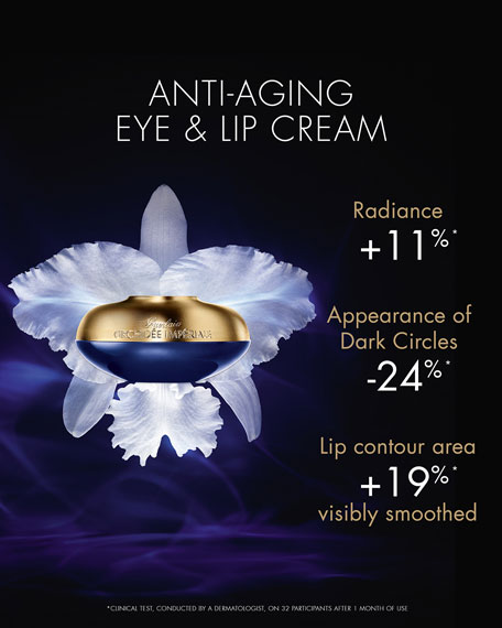 Orchidee Imperiale The Eye & Lip Contour Cream, 0.5 oz.