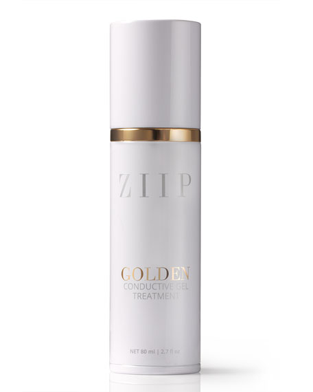 ZIIP Beauty Golden Conductive Gel, 2.7 oz./ 80