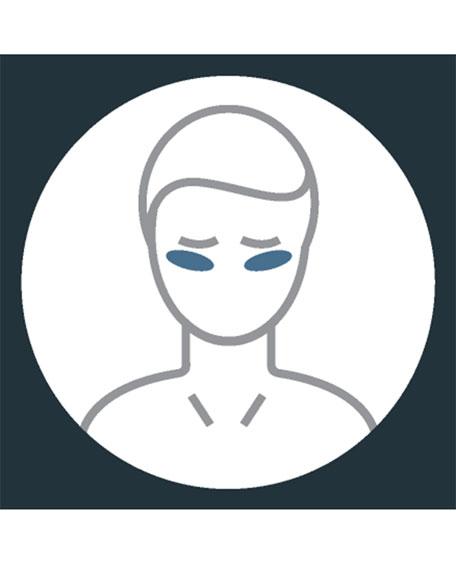 Men's Eye Wrinkles Smoothing Kit – Silicone Pads