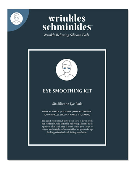 Men's Eye Wrinkles Smoothing Kit – Silicone Pads