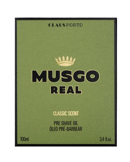 Classic Scent Pre-Shave Oil, 3.4 oz./ 100 mL