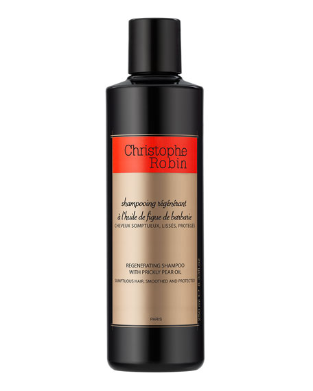 Christophe Robin Regenerating Shampoo with Prickly Pear Oil,