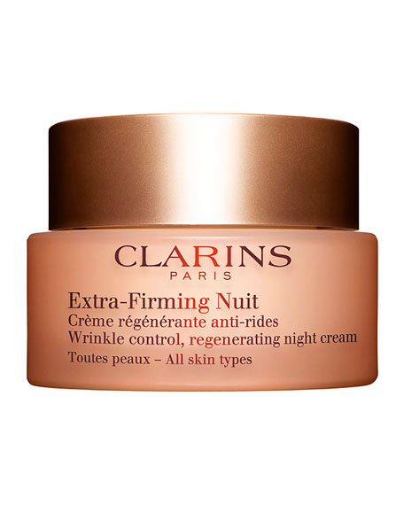 Clarins Extra-Firming Wrinkle Control Regenerating Night Cream –