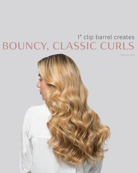 """T3 Defined Curls 1"""" Interchangeable Clip Curling Iron Barrel"""