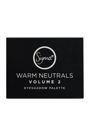 Sigma Beauty Warm Neutrals Volume 2 Eyeshadow Palette