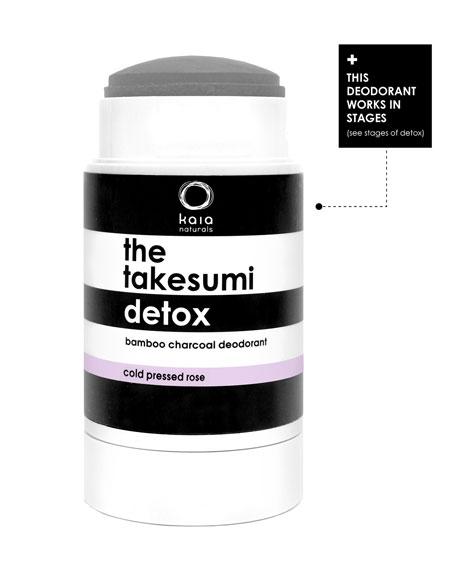 The Takesumi Detox Cold Pressed Rose